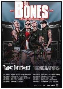 Tour: The Bones, The Generators y Teenage Bottlerocket