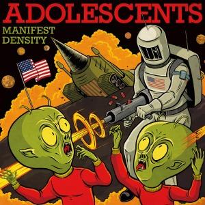 Portada de Manifest Destiny de Adolescents