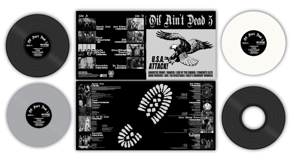 Oi! Ain't Dead Vol 5 de Rebellion Records