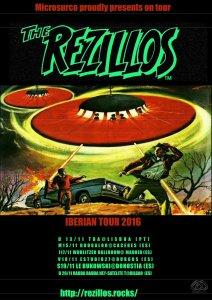 The Rezillos Iberian Tour