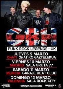Conciertos de G.B.H. en Oñati, Madrid, Murcia y Valencia