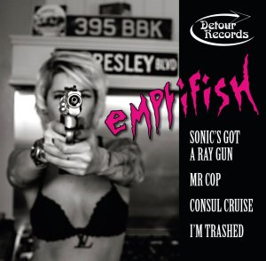 Emptifish: Sonic's Got A Ray Gun EP cover