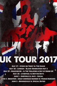 Out of Order UK Tour 2017