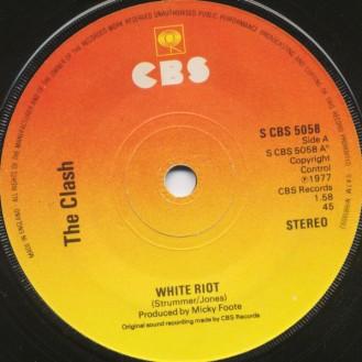 The Clash: White Riot/1977 single