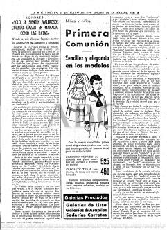 Crónica postal de ABC de los incidentes en Brithton y Margate, publicada 19/05/1964