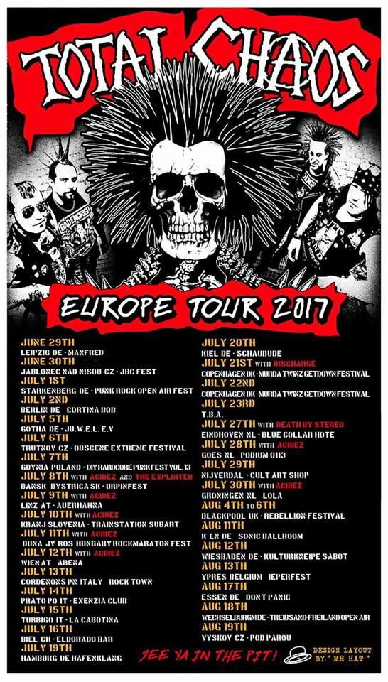 Total Chaos European Tour 2017