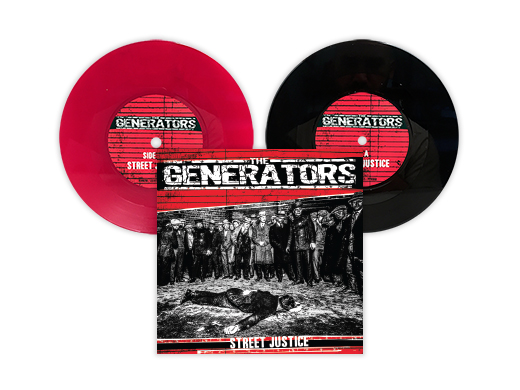 "The Generators: Street Justice 7"" pack"
