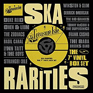 """Treasure Isle: Ska Rarities 7"""" Box Set"""