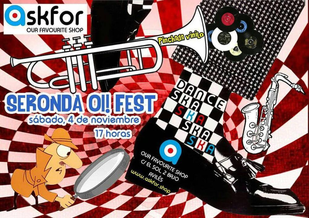 Fiesta previa del Seronda Oi! Fest en Askfor
