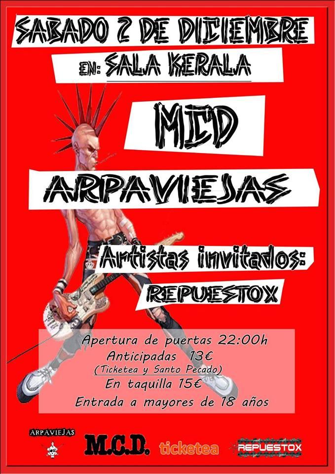 M.C.D. + Arpaviejas + Repuestox en Valladolid