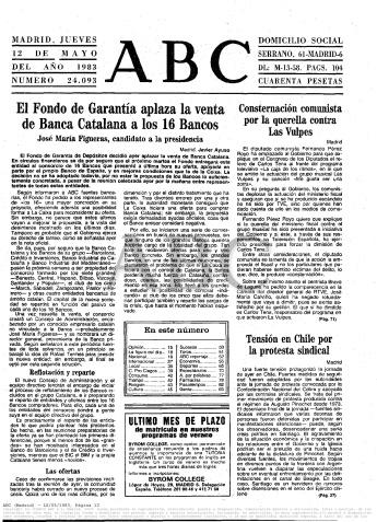 ABC, 12 de mayo de 1983
