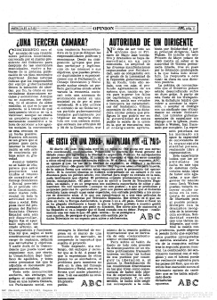 Editorial ABC de 4 de mayo de 1983