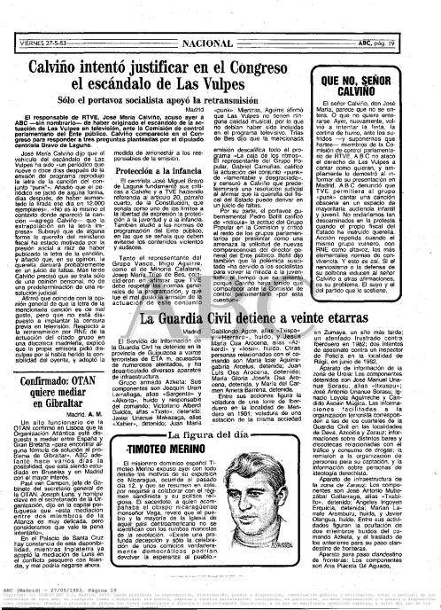 ABC, 27 de mayo de 1983