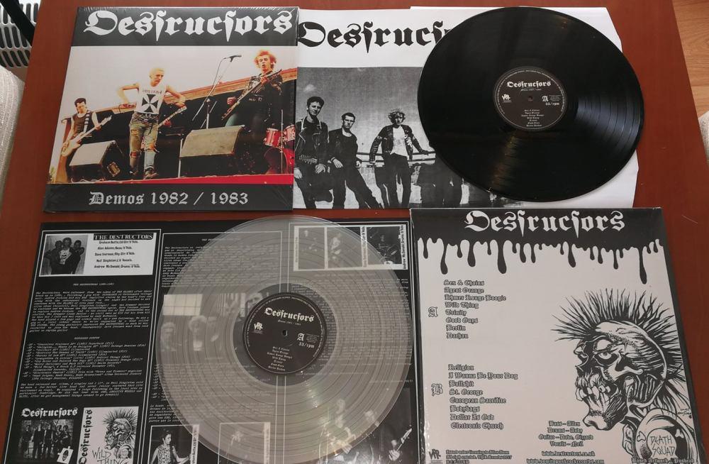 Destructors – Demos 1982 / 1983 editado por VomitoPunkRock Records