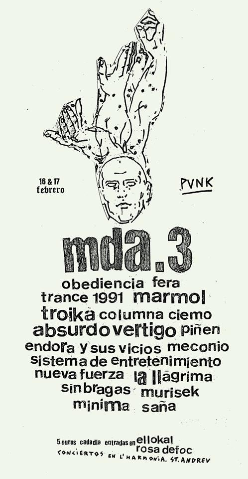 MDA Vol. 3 @ Ateneu L'Harmonia (Barcelona)