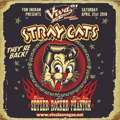 Stray Cats @ Viva Las Vegas Rockabilly Weekender 2018