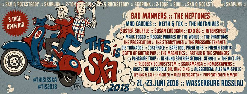 This Is Ska Festiavl 2018: line up