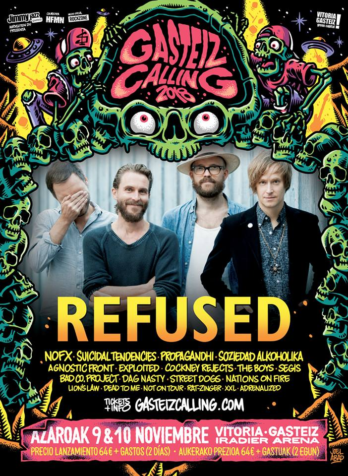 Refused @ Gasteiz Calling 2018