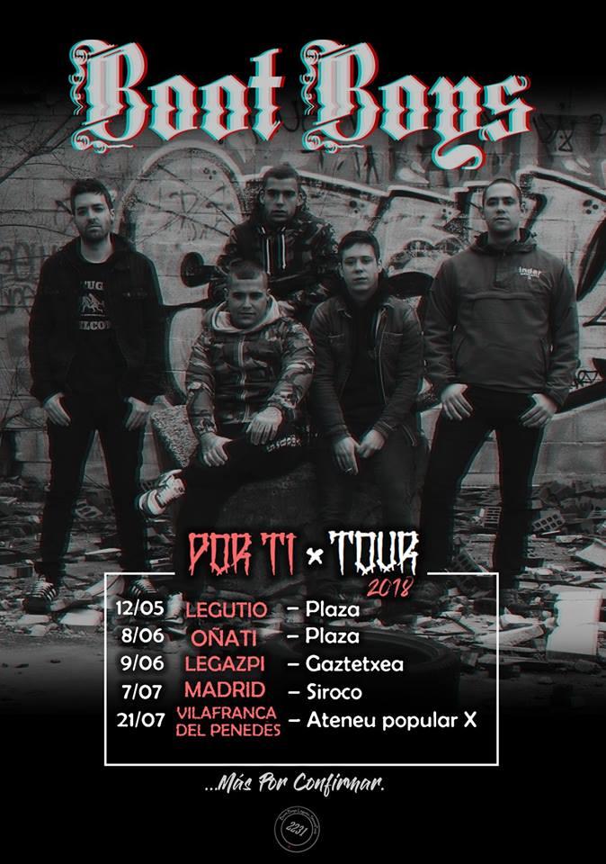 Próximos conciertos Legutio, Oñati, Legazpi, Madrid y Villafranca del Penedés
