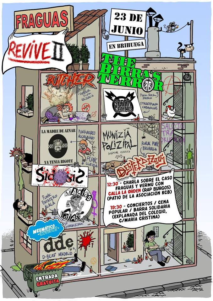 Cartel Fraguas Revive 2