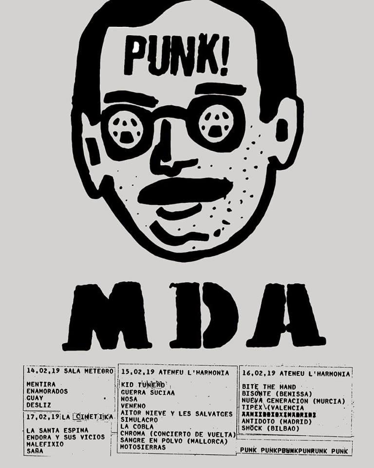 Horarios y reparto por días para el MDA de Barcelona, del 14 al 17 de febrero
