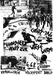 Cartel anunciando el Chaos-Tag de 1982 en Hannover