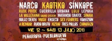 Cartel del Festival A Pico y Pala 2019