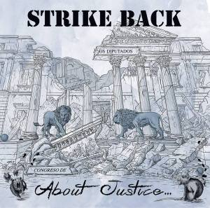 Portada de 'About Justice' de Strike Back (Tough Ain't Enough, 2018)