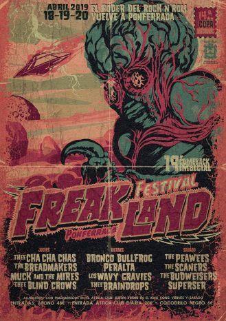 Cartel Freakland 2019