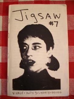 Jigsaw era el fanzine que realizaba Tobi Vail y el primer componente del movimiento Riot Grrrl