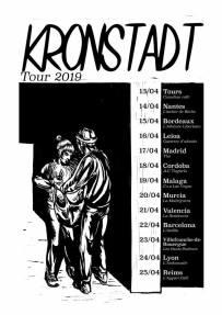 Kronstadt: Gira 2019 con conciertos en Leioa, Madrid, Córdoba, Málaga, Murcia, Valencia y Barcelona