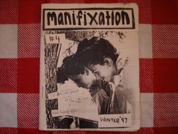 Manifixation fue un zine por el músico Sara Jaffe, componente de Erase Errata.