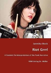 Libro 'Riot Grrrl' de Jannika Bock