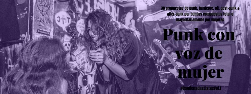 Especial de bandas de punk mayoritariamente compuestas por mujeres Fotografía: Perra Vida @ Hensley RockNRoll Bar Photo Credit: Charlotte Béja