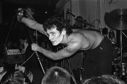 ADAM ANT At The Vortex Club London 1977