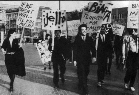 Desfile electoral por SF