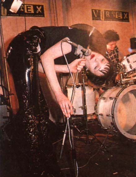 Siouxsie, London, Vortex Club, 31-10-1977