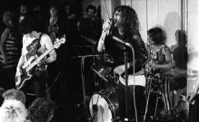 The Slits // 1977 at the Vortex Club //