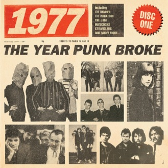 1977 – The Year Punk Broke, Various Artists, 3CD Boxset