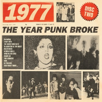 1977 – The Year Punk Broke, Various Artists, 3CD Boxset