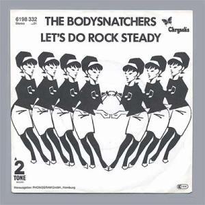 """Portada edición alemana """"Let's Do rock Steady"""" de The Bodysnatchers"""