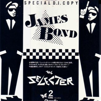 "Portada edición japonesa de ""James Bond"" de The Selecter"