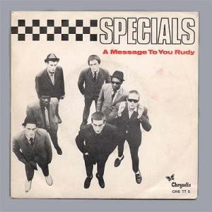 """Portada edición española de """"A Message to You Rudy"""" de the Specials"""