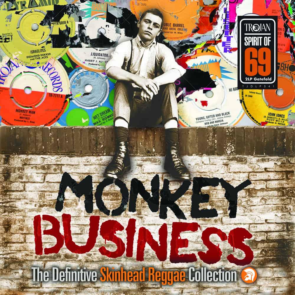 Monkey Business 2xLP: The Definitive Skinhead Reggae Collection (Trojan Records, 2019)