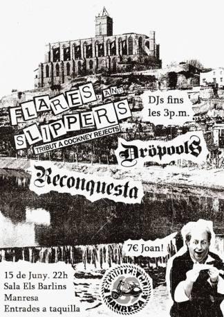 Reconquesta + Dröpools + Flares and Slippers @ Scooter Run Manresa 2019, el sábado 15 de junio de 2019