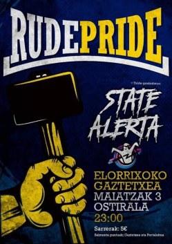 Rude Pride + State Alerta @ Elorrio