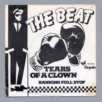 """Portada edición holandesa de """"Tears of a Clown"""" de The Beat"""
