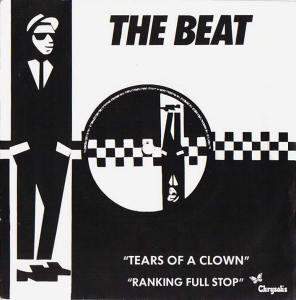 """Portada edición francesa de """"Tears of a Clown"""" de The Beat"""