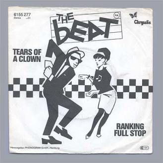 """Portada edición alemana de """"Tears of a Clown"""" de The Beat"""