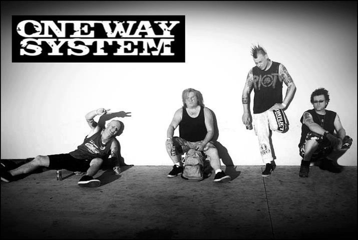 One Way System: Punk band from UK
